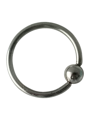 16g Titanium Captive Bead Ring
